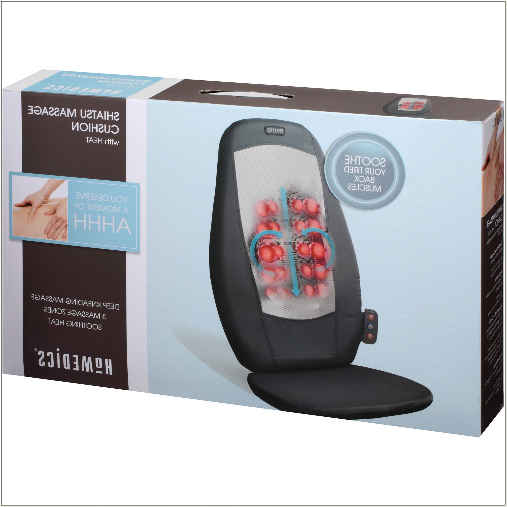 Homedics Shiatsu Massage Chair With Heat