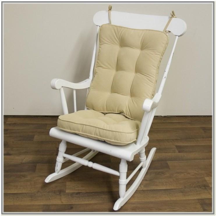 Hot Pink Rocking Chair Cushions