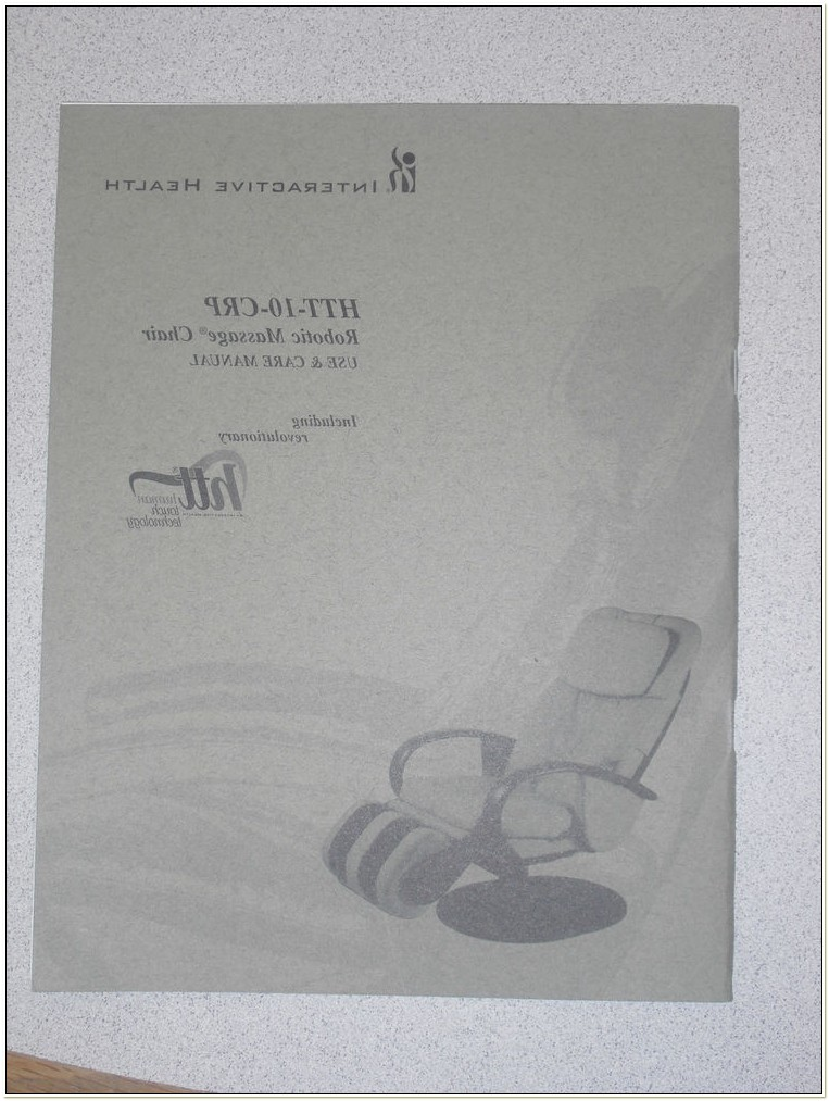 Htt 10crp Massage Chair Manual