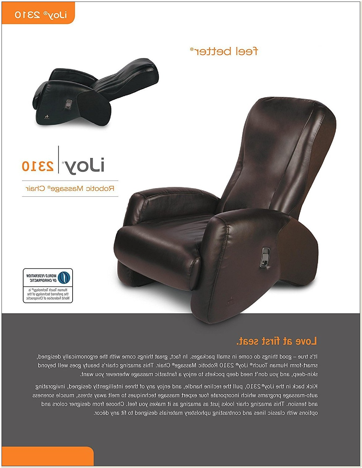 Ijoy 550 Robotic Massage Chair