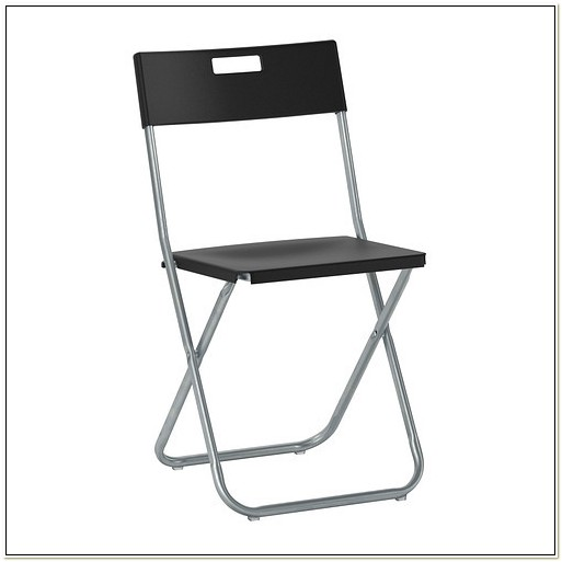 Ikea Black Folding Chairs