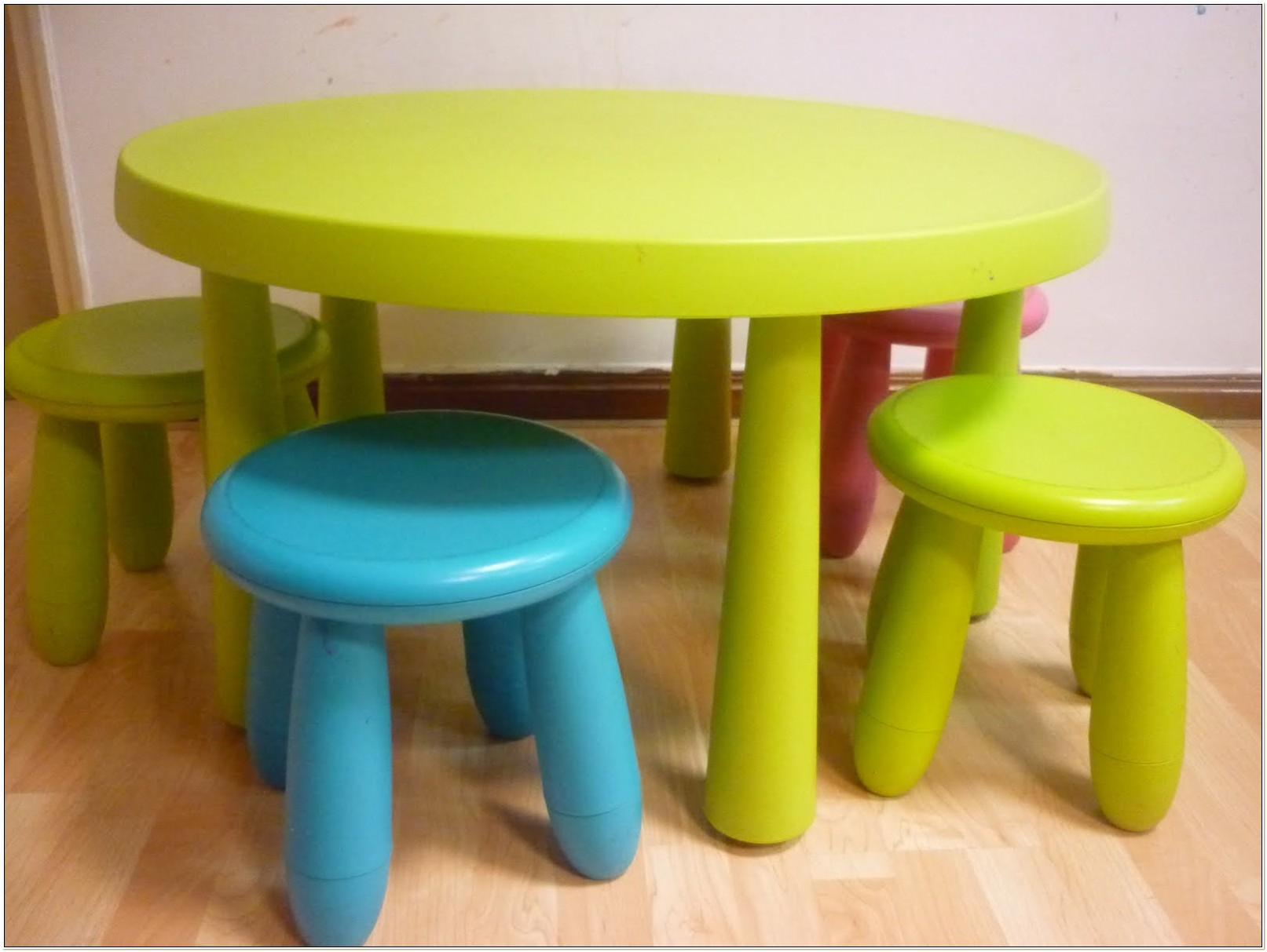 Ikea Childrens Round Table And Chairs
