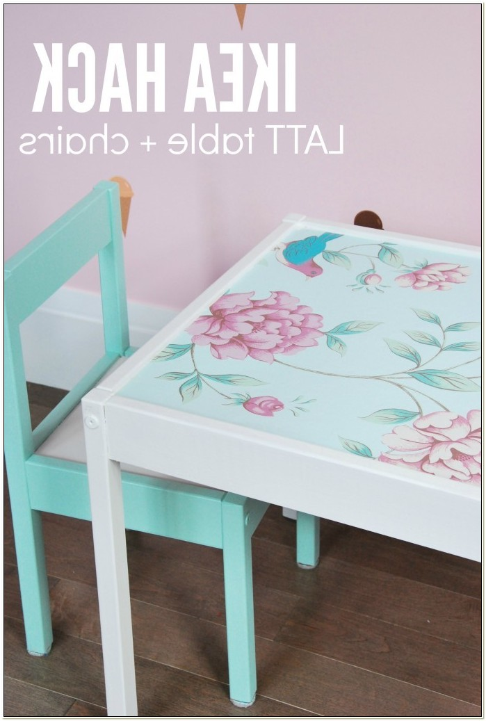 Ikea Childrens Table And Chairs Hack