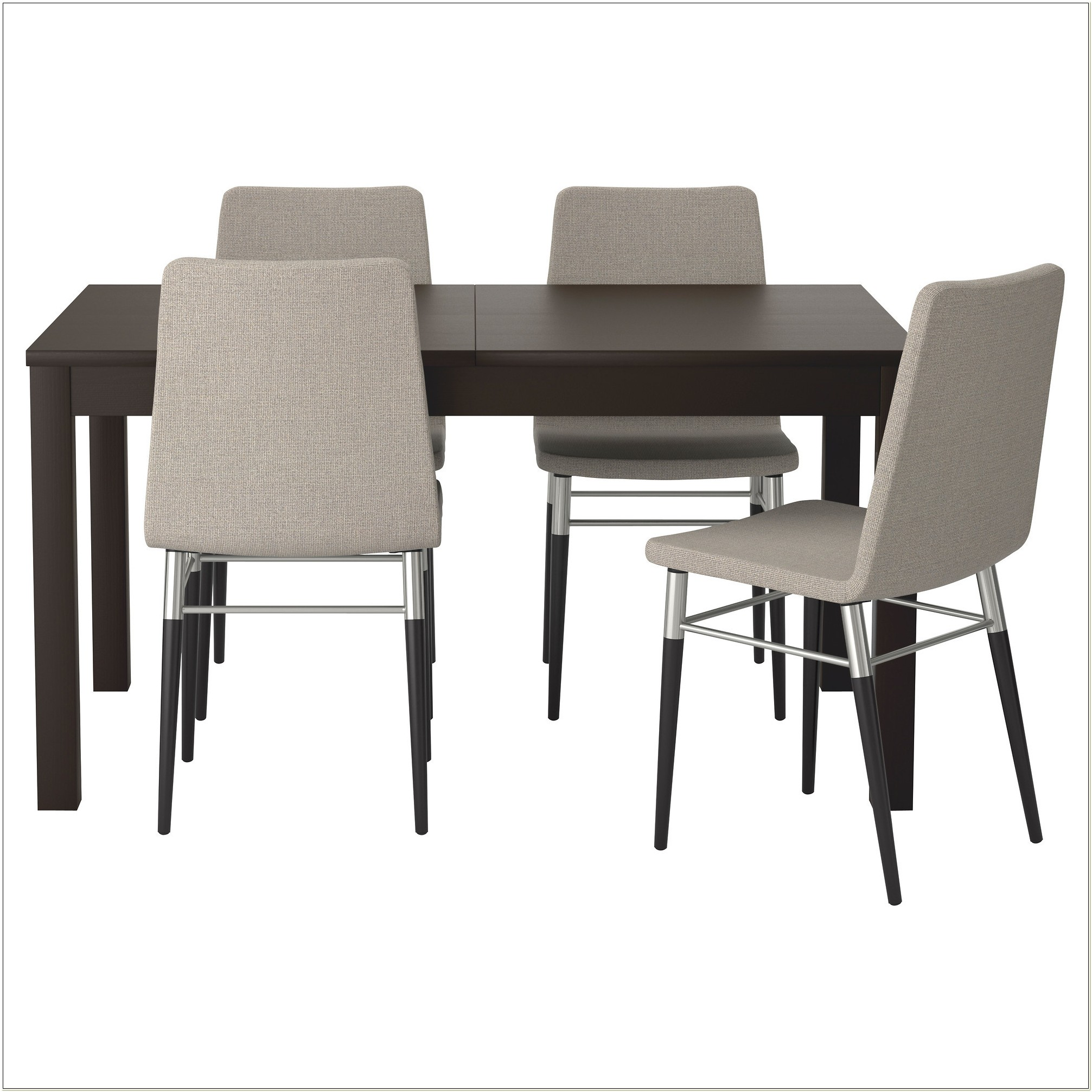Ikea Dining Table 4 Chairs Set
