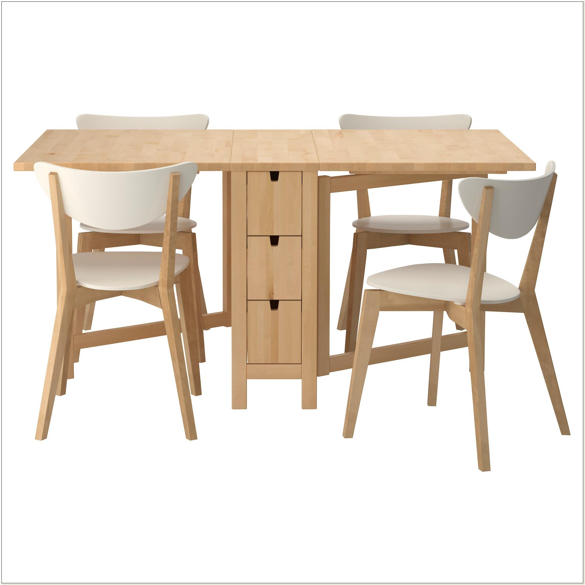 Ikea Folding Table Set