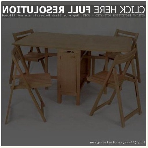 Ikea Folding Table With Chairs Inside