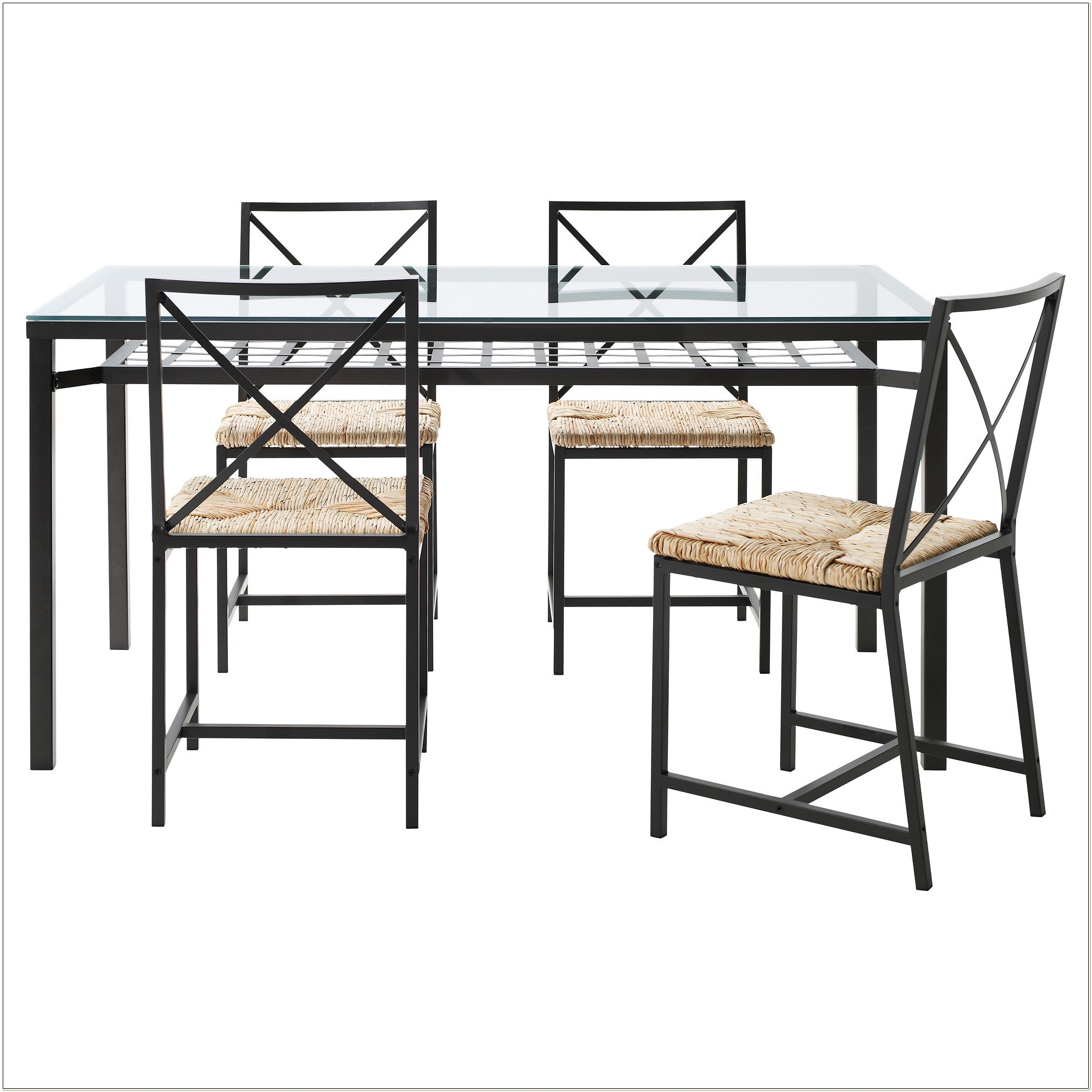 Ikea Glass Dining Room Set
