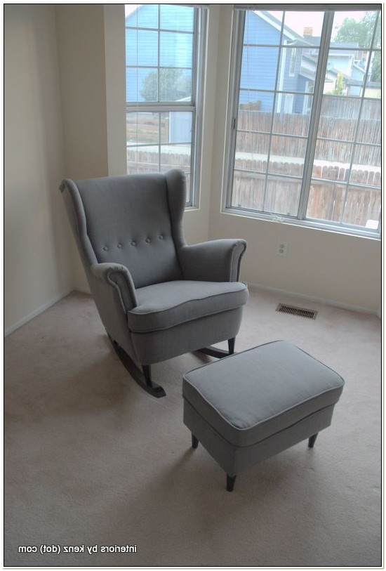 Ikea Glider Chair And Ottoman