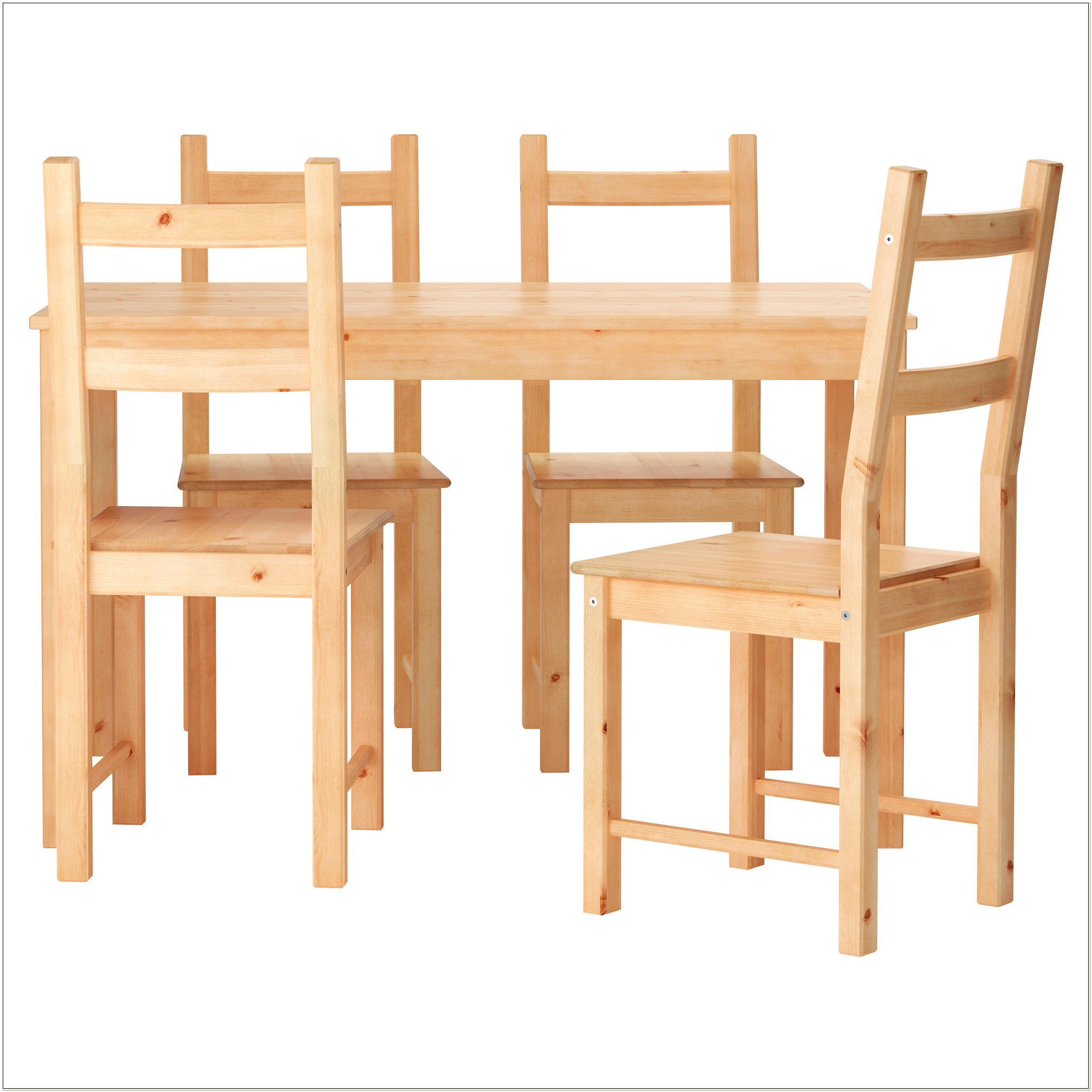 Ikea Pine Dining Table And Chairs