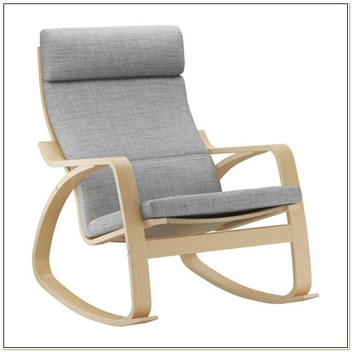 Ikea Poang Rocking Chair Grey