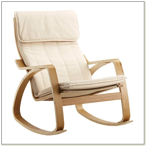 Ikea Poang Rocking Chair Oak