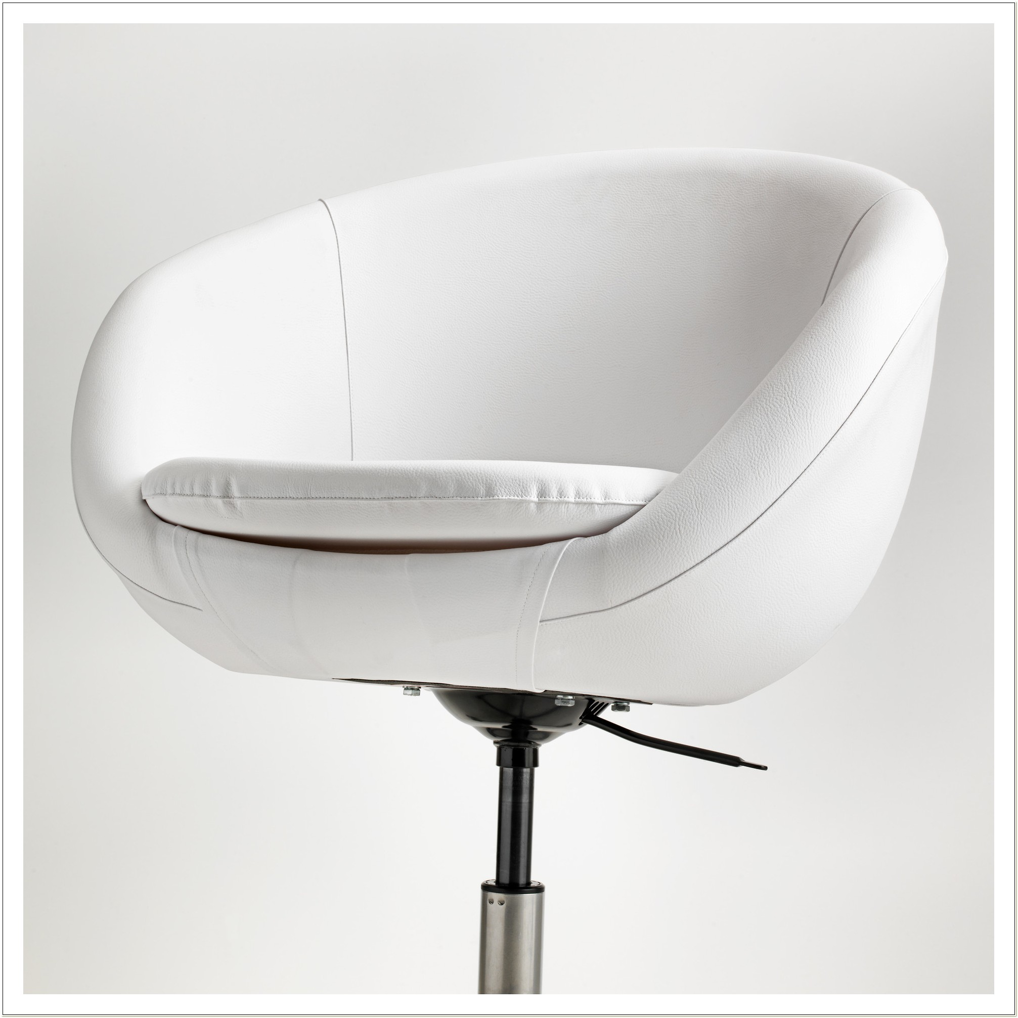Ikea Skruvsta White Swivel Chair