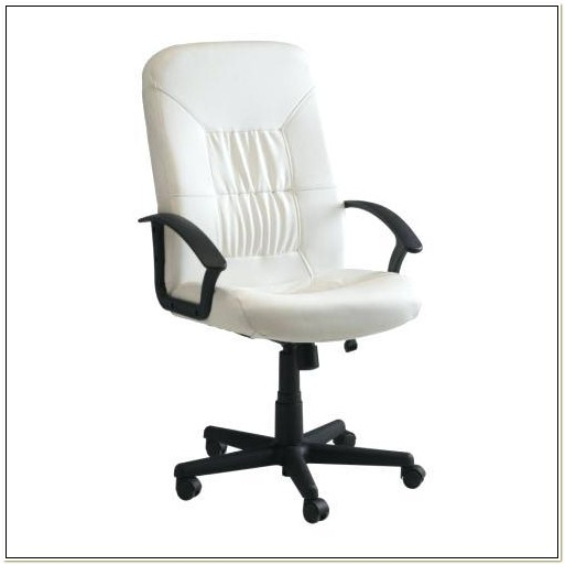 Ikea Verner White Swivel Chair