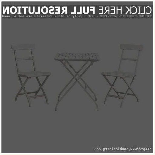Ikea White Folding Table And Chairs