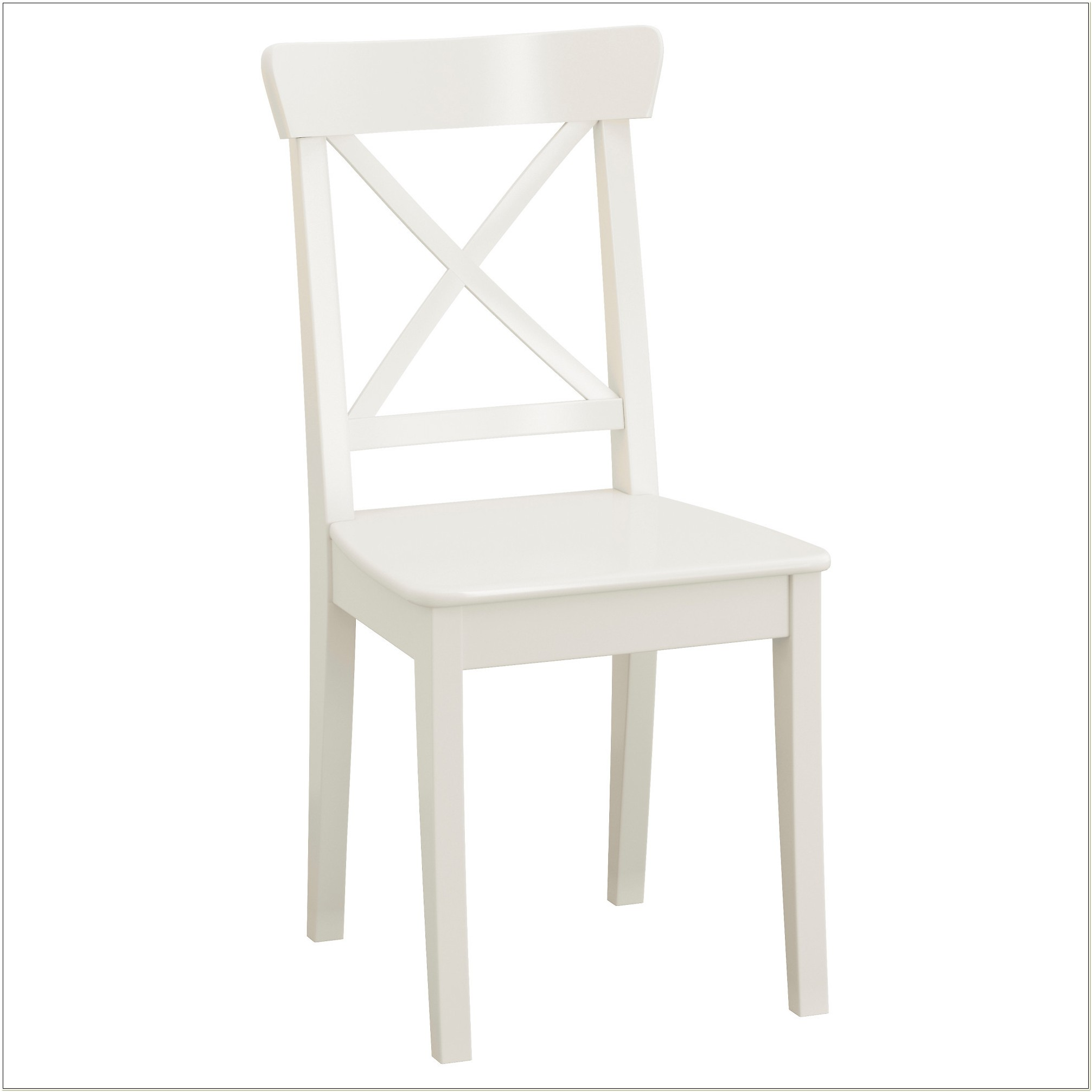 Ikea White Leather Dining Chair