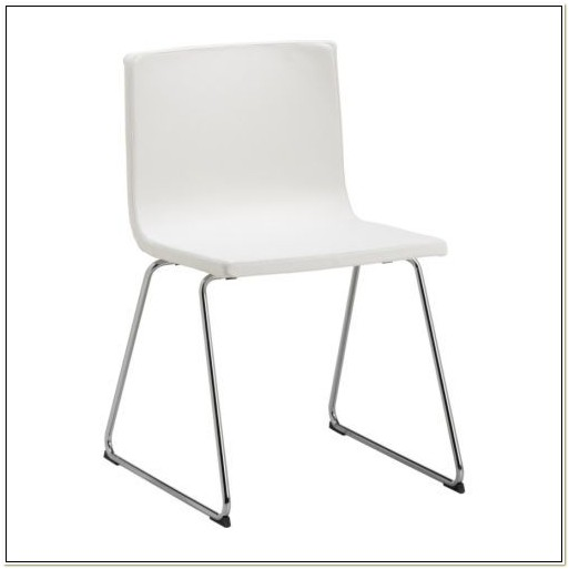 Ikea White Leather Dining Chairs