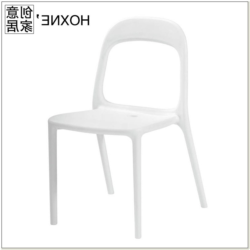 Ikea White Plastic Dining Chairs