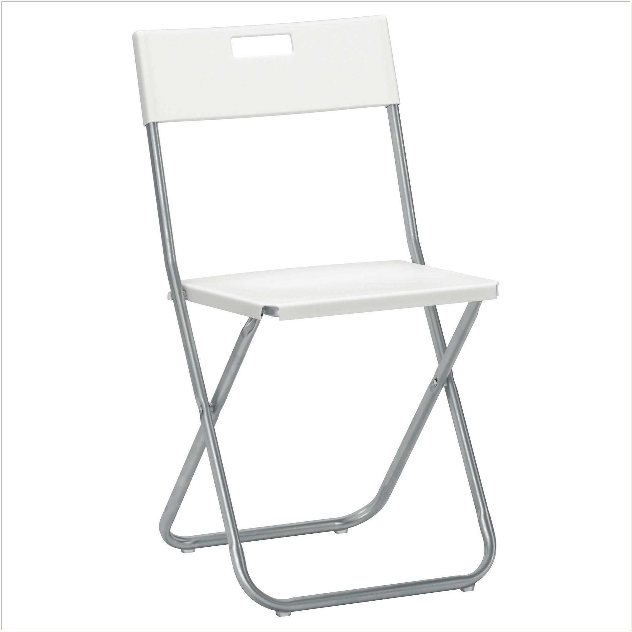 Ikea White Plastic Folding Chairs