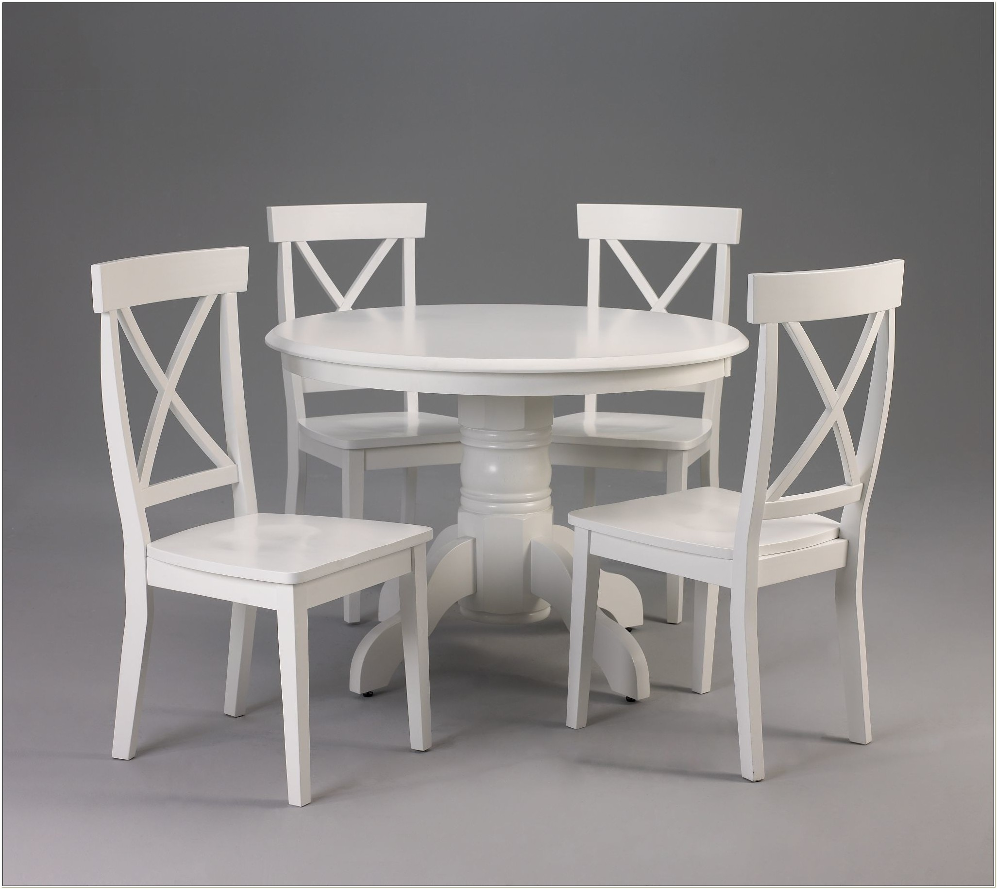 Ikea White Round Table And Chairs