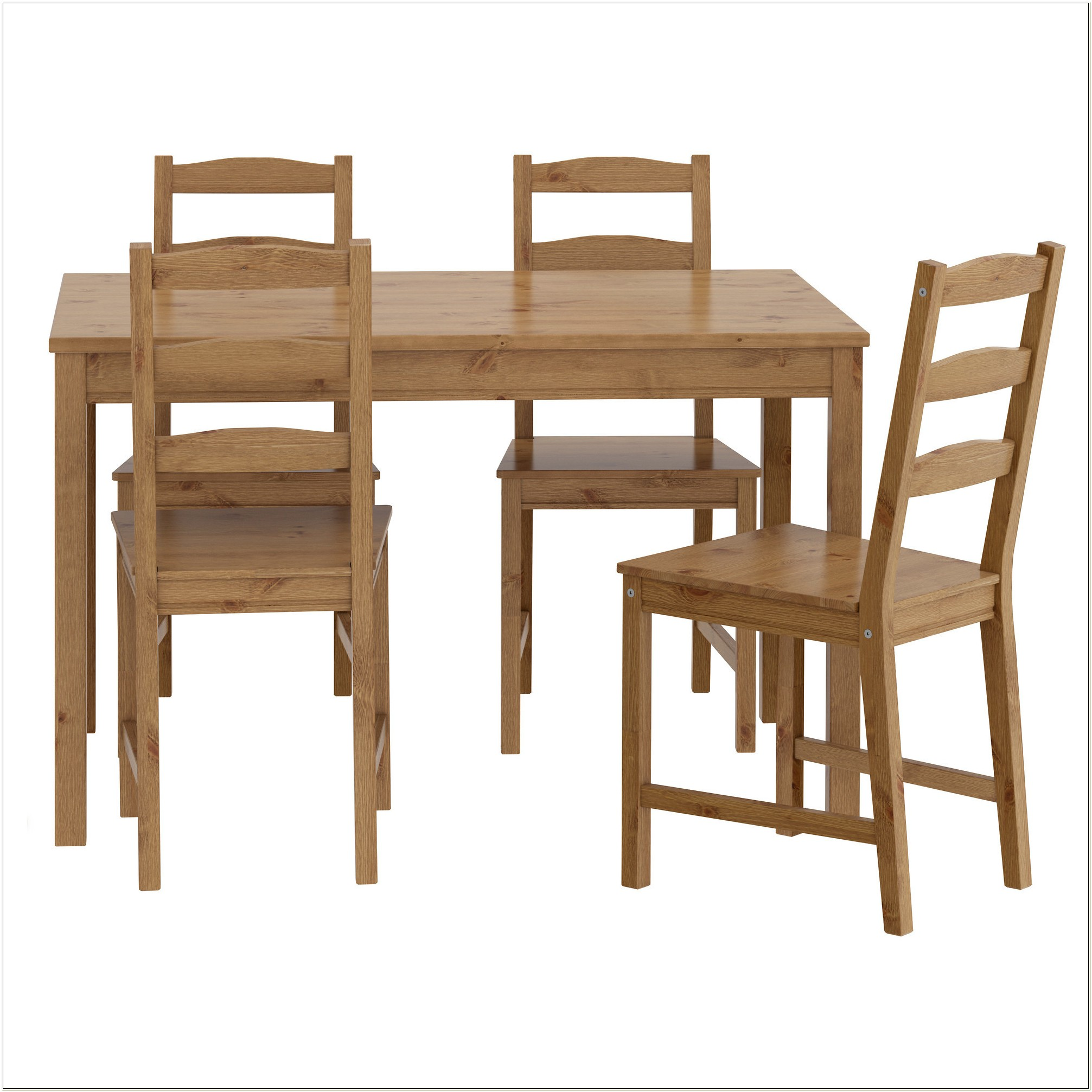 Ikea Wooden Dining Table And Chairs