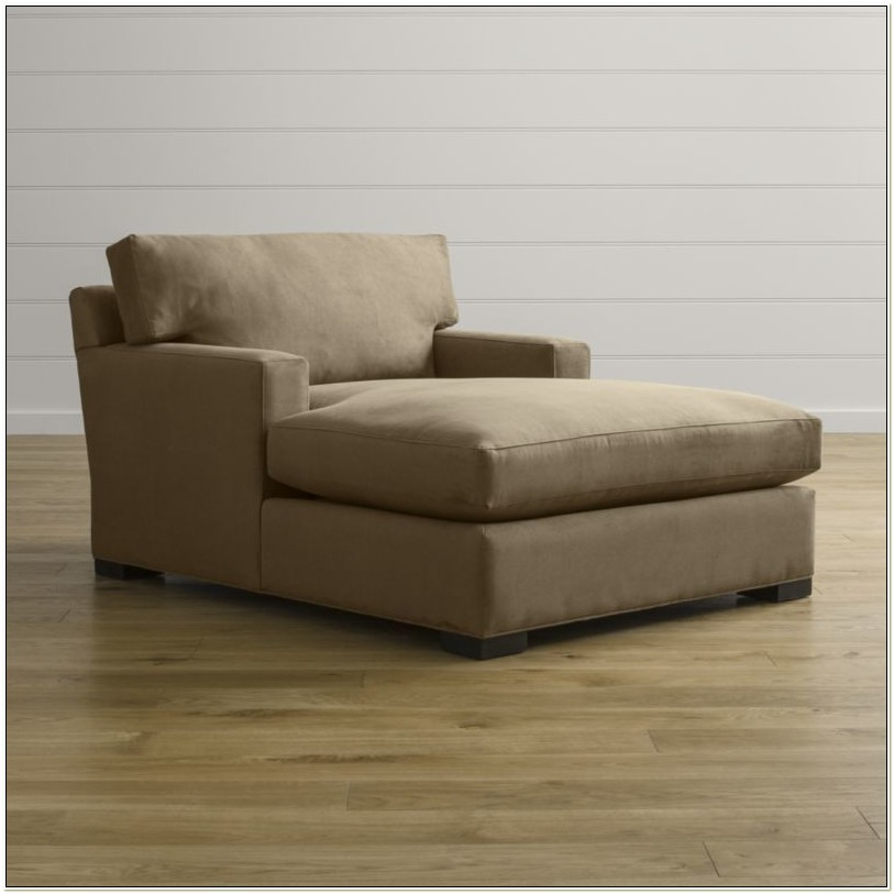 Indoor Double Arm Chaise Lounge Chair