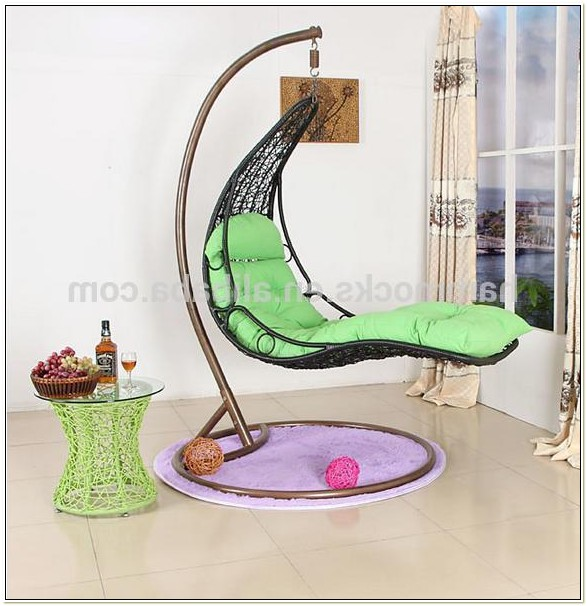 Indoor Hanging Egg Chair With Stand