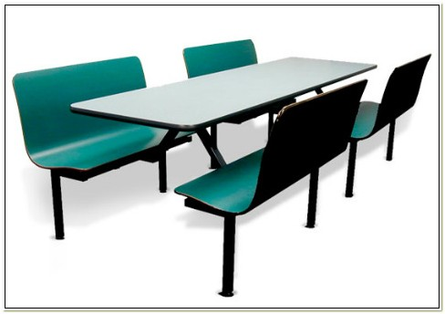 Industrial Lunchroom Tables And Chairs