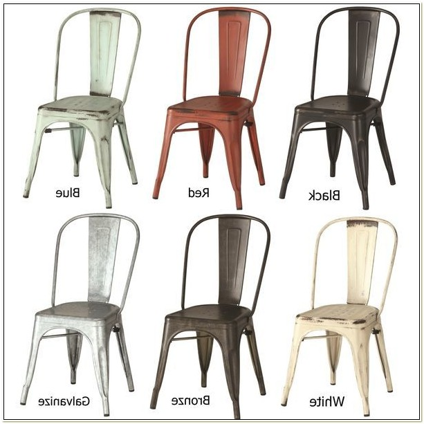 Inexpensive Metal Dining Chairs