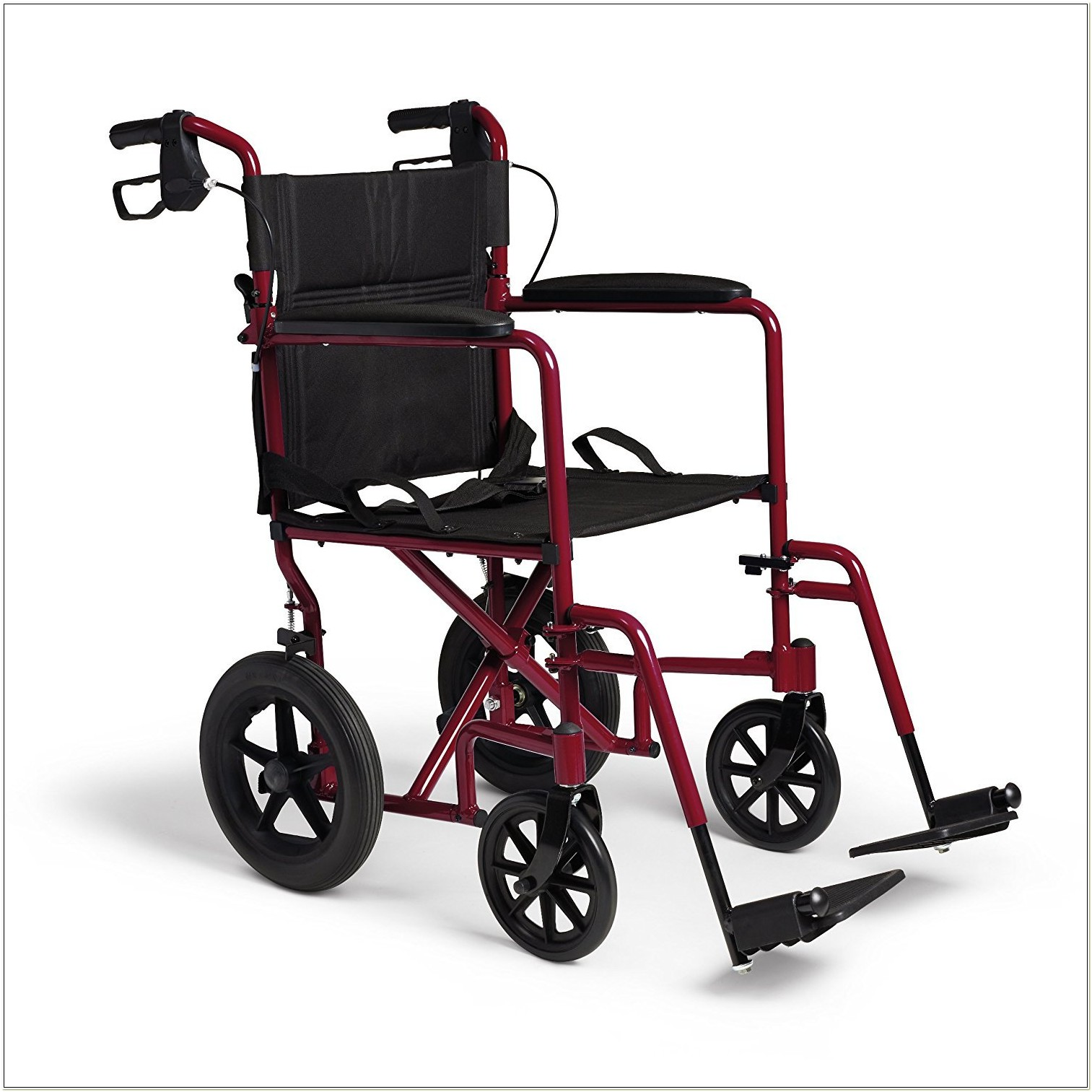 Invacare Lightweight Folding Transport Wheelchair