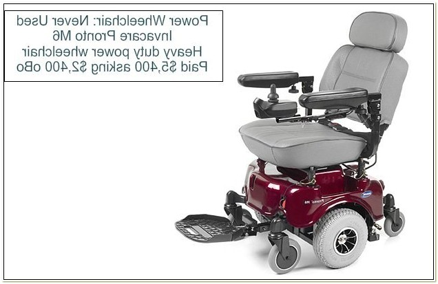 Invacare Pronto M6 Power Wheelchair