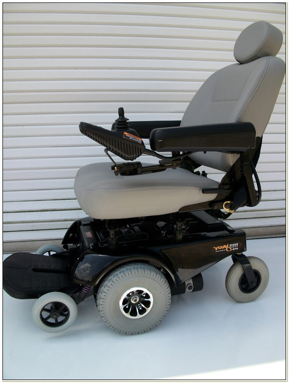 Jazzy 1113 Ats Power Wheelchair Used