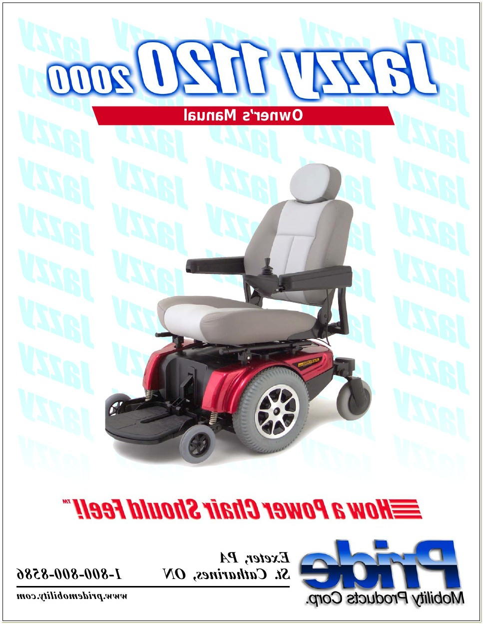 Jazzy 1120 Power Chair Manual