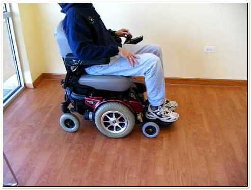 Jazzy Power Chair Model 1121