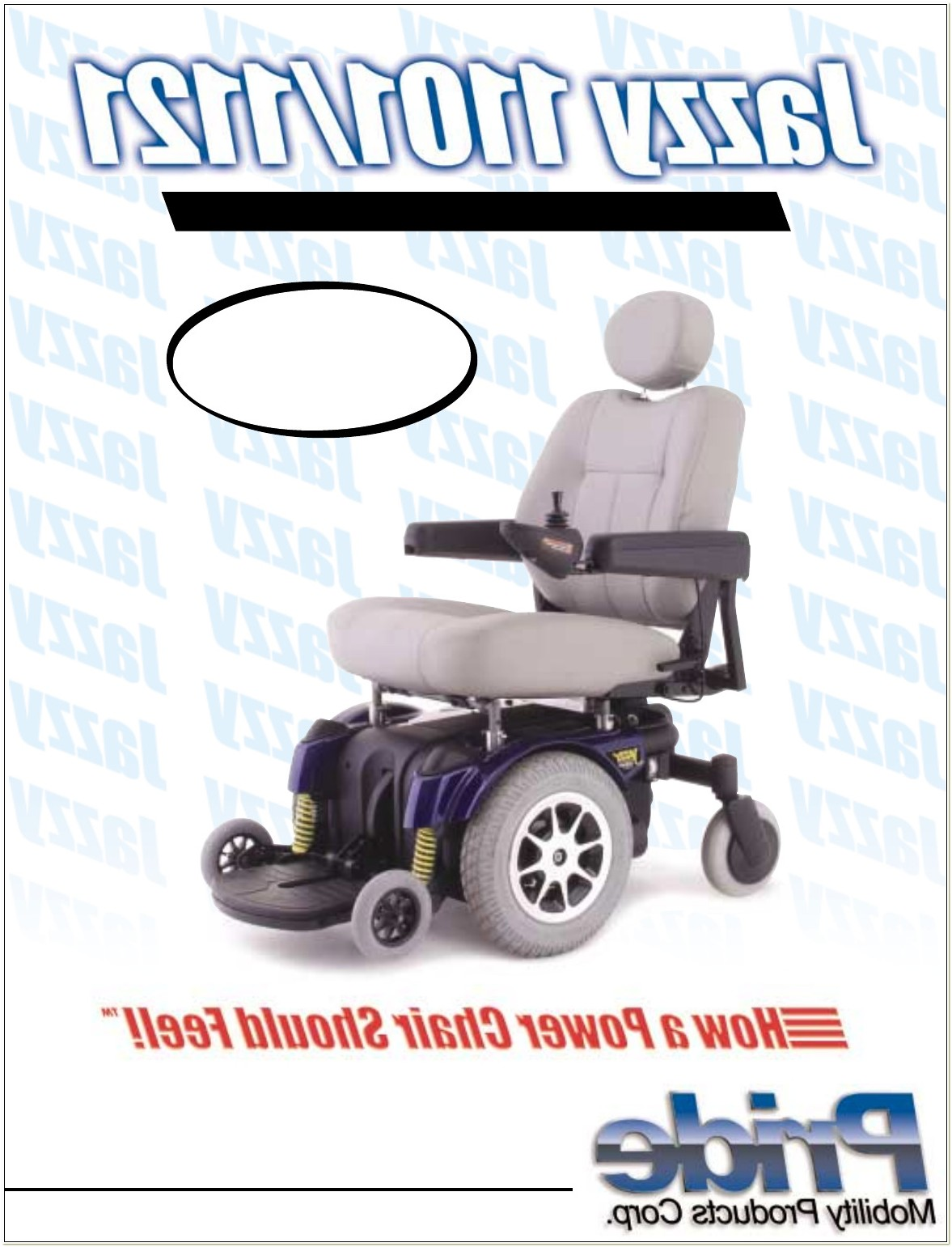 Jazzy Power Chair Operating Manual