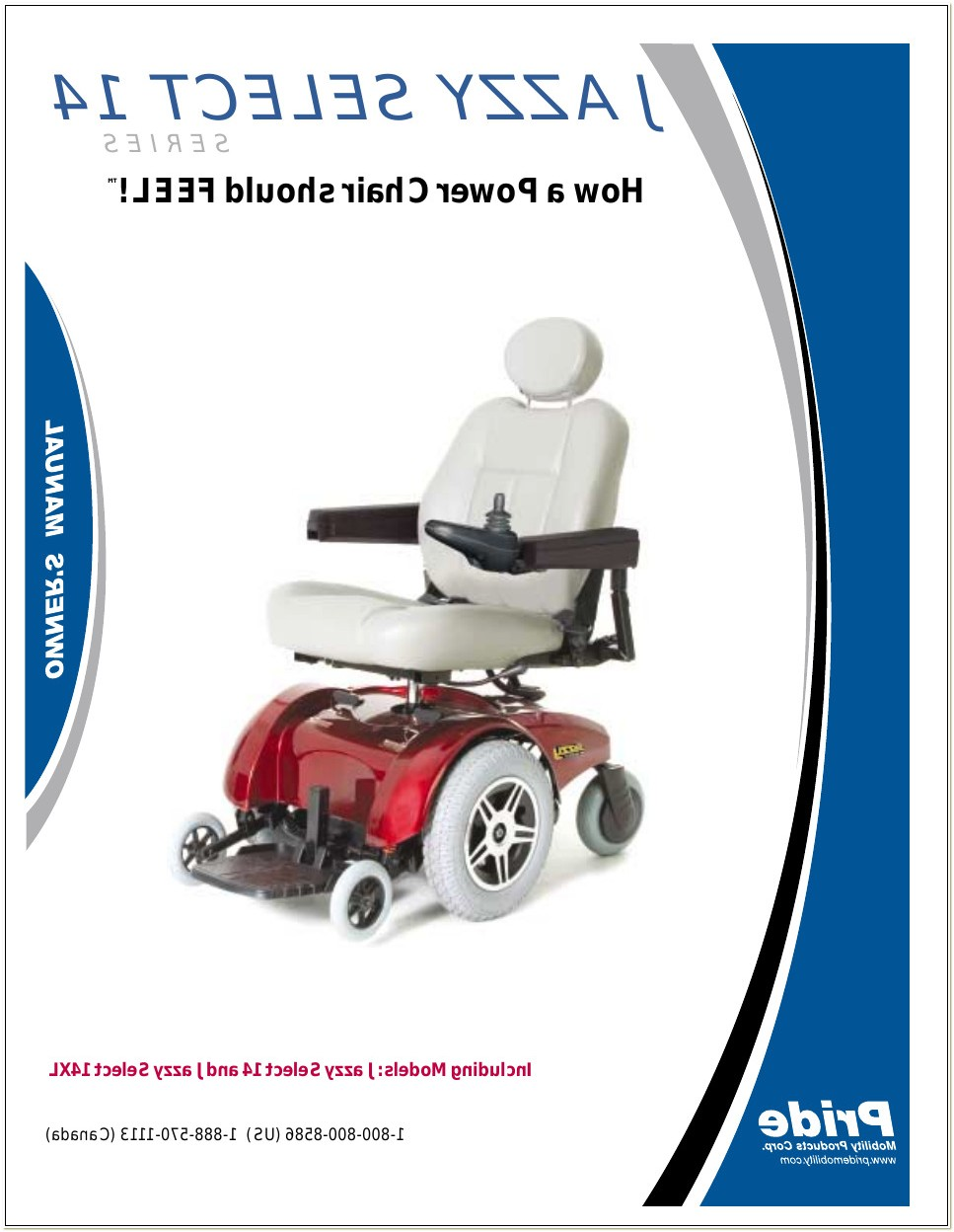 Jazzy Select 14 Power Chair Manual