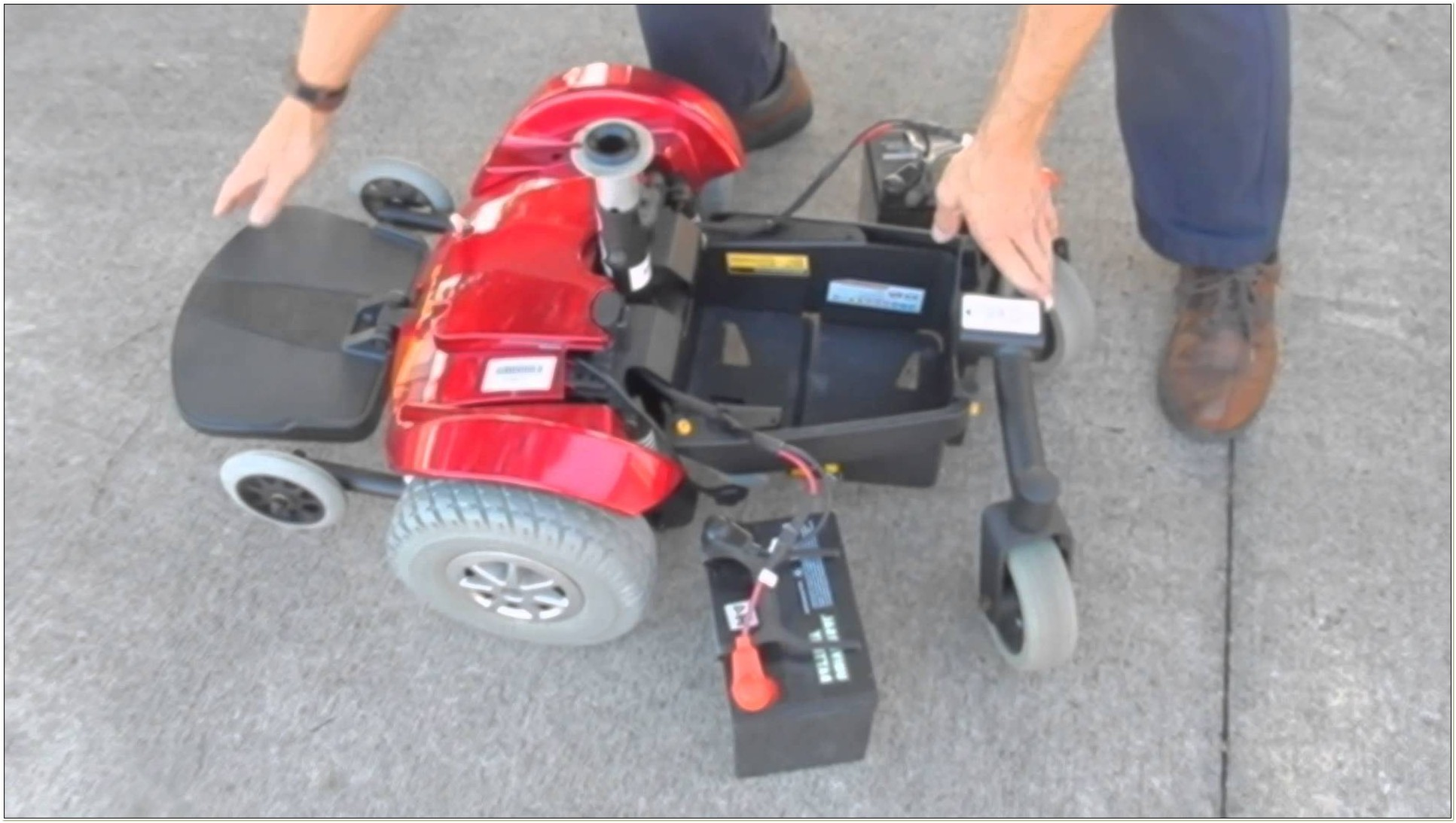 Jazzy Select Gt Power Chair Battery