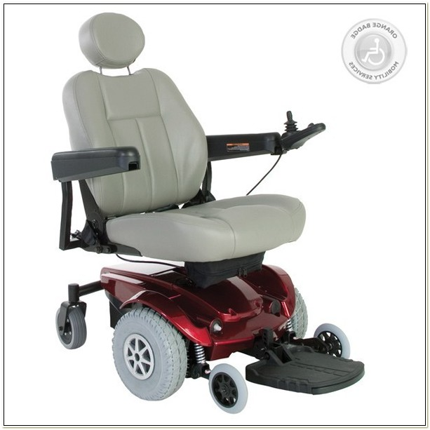 Jazzy Select Pride Power Chair