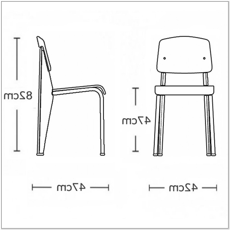 Jean Prouve Standard Chair Dimensions