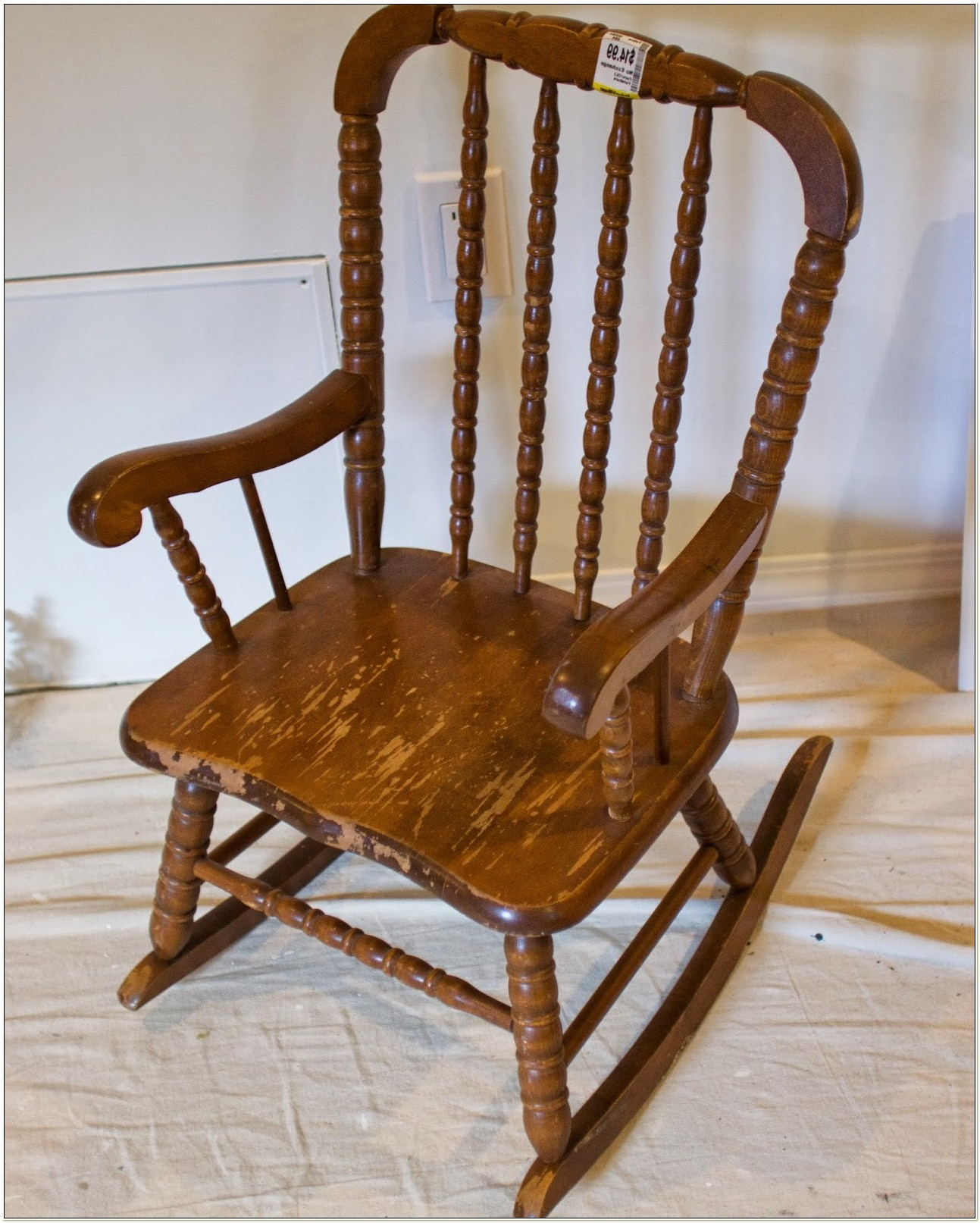 Jenny Lind Childrens Rocking Chair