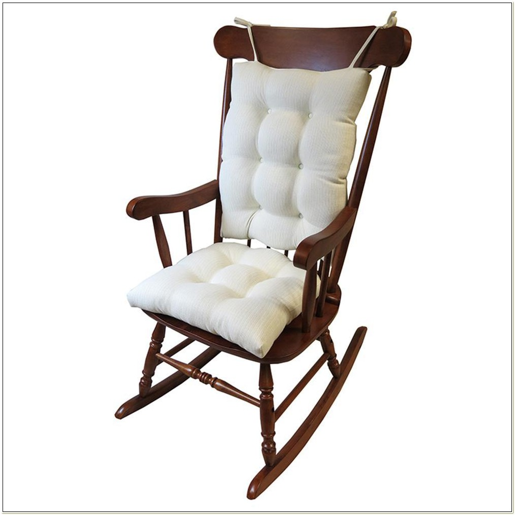Jumbo Rocking Chair Cushion Set