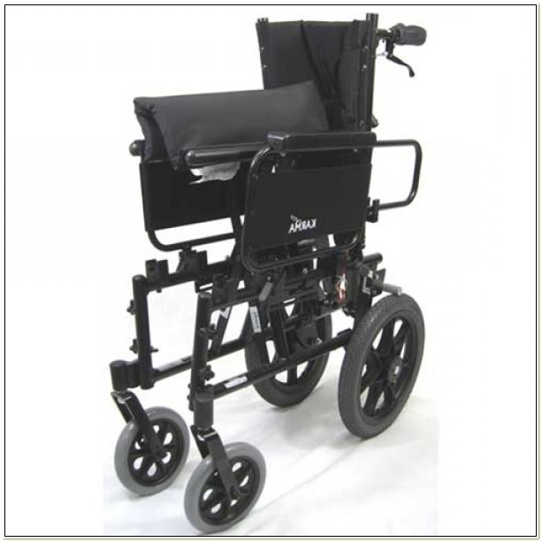Karman Ultralight Reclining Transport Chair