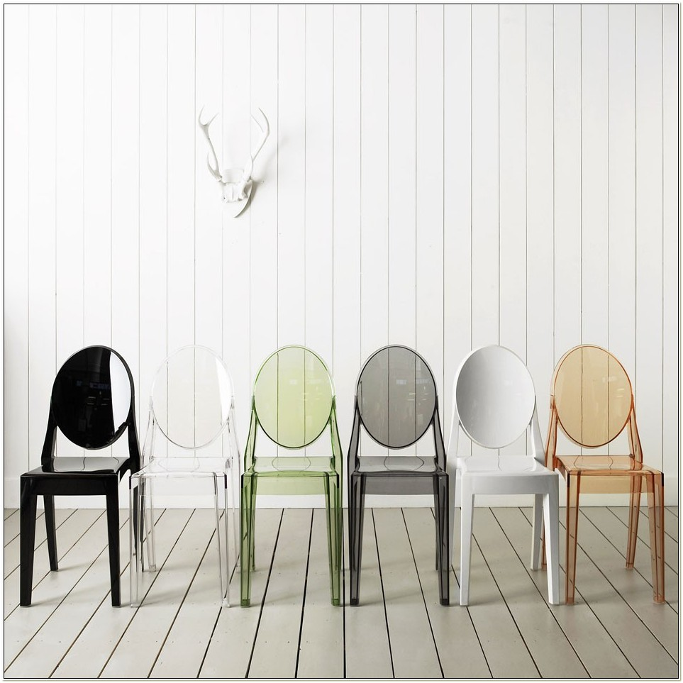 Kartell Victoria Ghost Chair Black