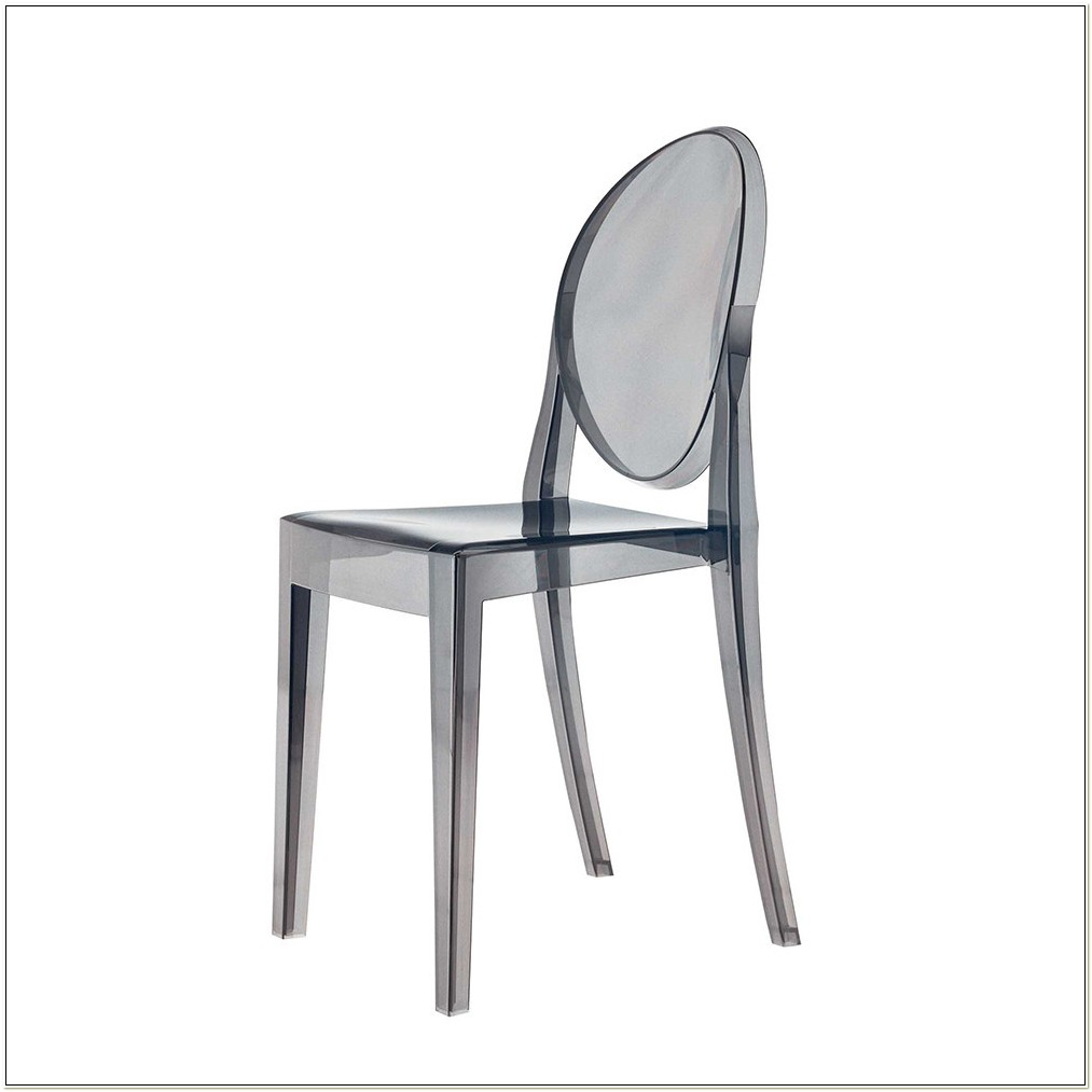 Kartell Victoria Ghost Chair Smoke