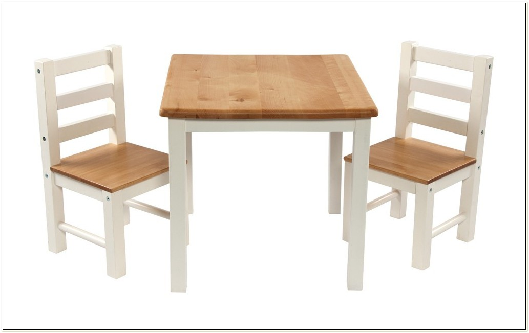 Kid Wooden Table And Chair Set