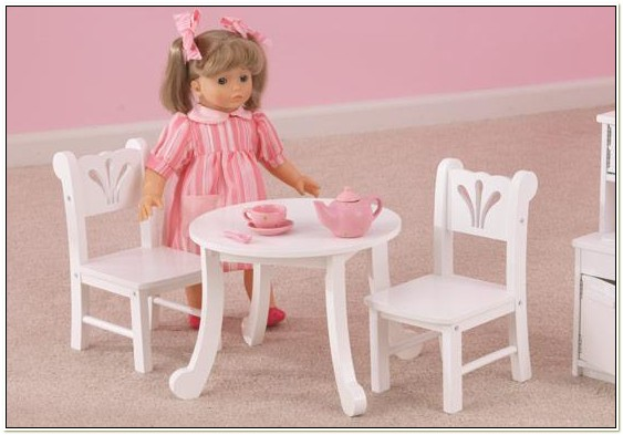 Kidkraft 18 Inch Doll Table And Chairs