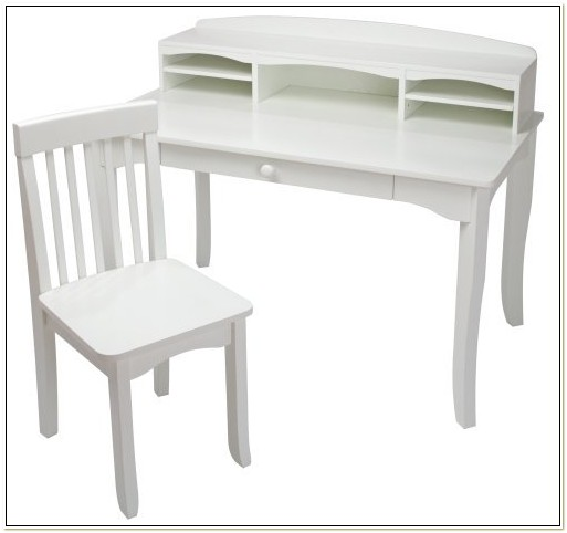 Kidkraft Avalon Desk And Chair In White