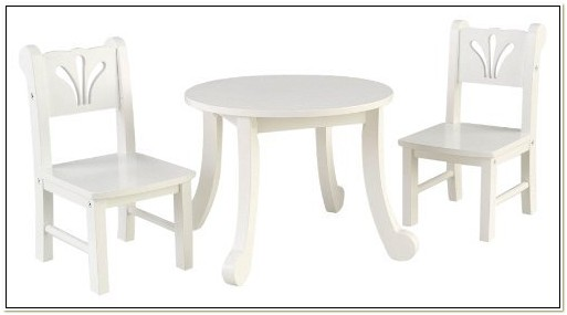 Kidkraft Doll Table And Chairs