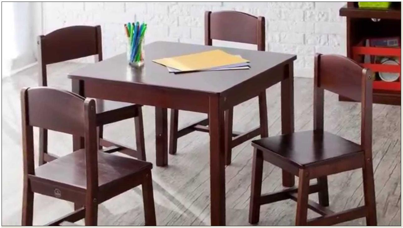 Kidkraft Farmhouse Table And Chair Set Cherry