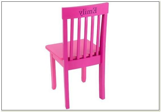 Kidkraft Personalized Avalon Chair White 16601 Pz