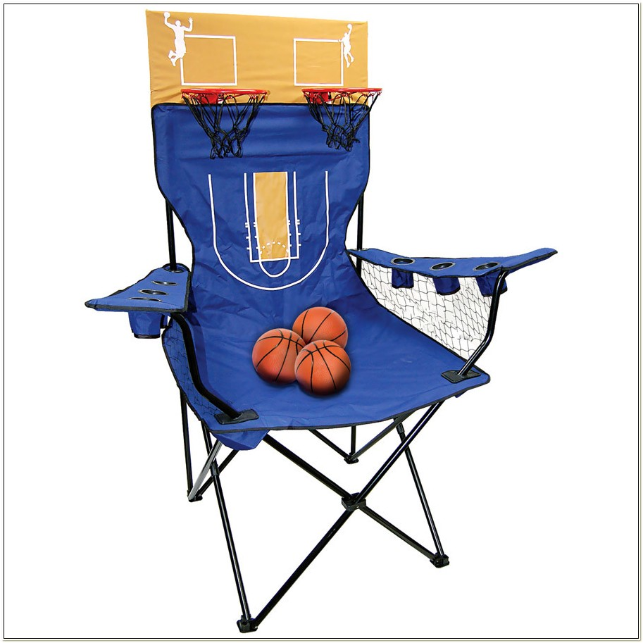 Kingpin Giant Basketball Toss Folding Chair